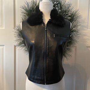 Saguaro leather vest